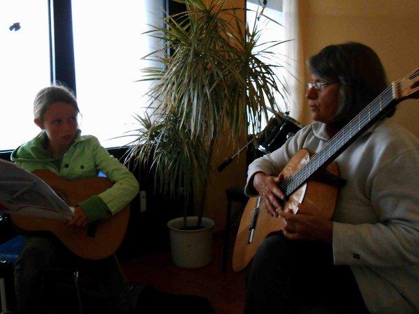 kleines Gitarrenkonzert/Gitarrenunterricht